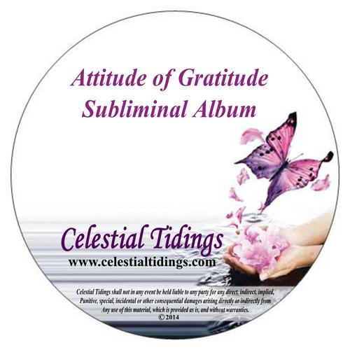 Product picture Attitude of Gratitude Album